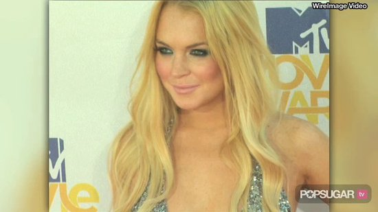 Video: Lindsay Lohan at Sober House Post Topless-Shoot