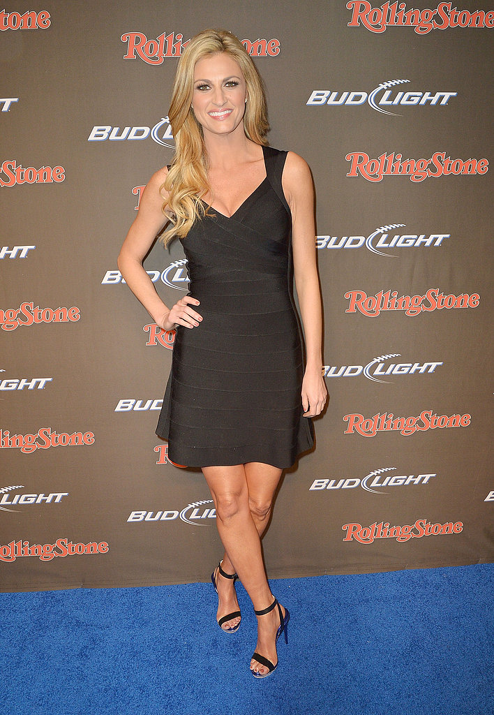 Erin Andrews attended the Rolling Stone Live Party Friday night in New Orleans.