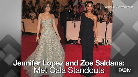 Jennifer Lopez, Zoe Saldana: 2010 Met Gala Best Dressed Red Carpet Celebs