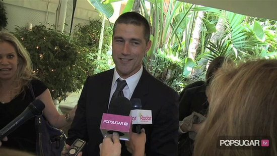 Video: Matthew Talks Lost Movie at Lunch With Eva & Nicole!