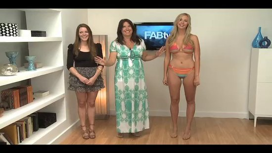 Extra Helpings: FabTV Swimsuit Shoot Blooper