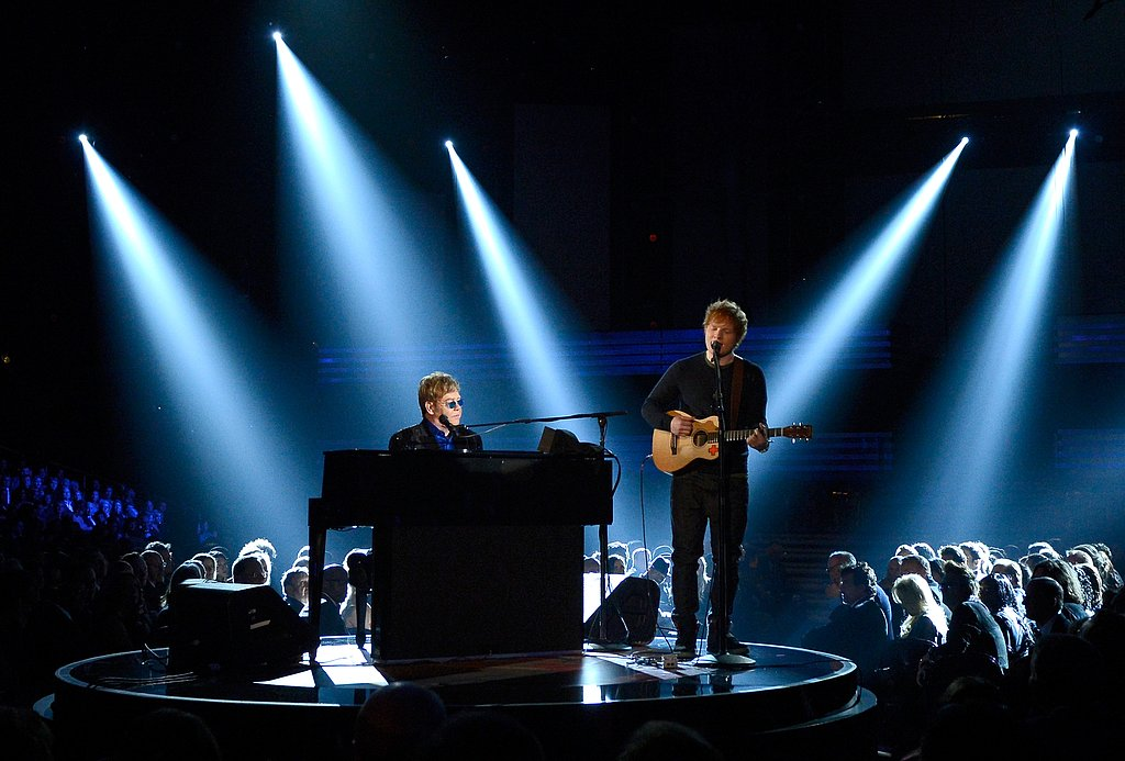 Elton John and Ed Sheeran