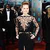 Celebrties on the Red Carpet at the BAFTA Awards 2013