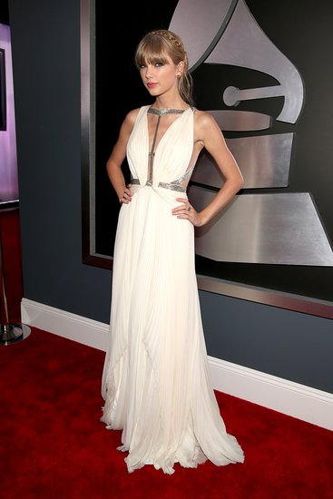 Taylor Swift attended the 2013 Grammys.