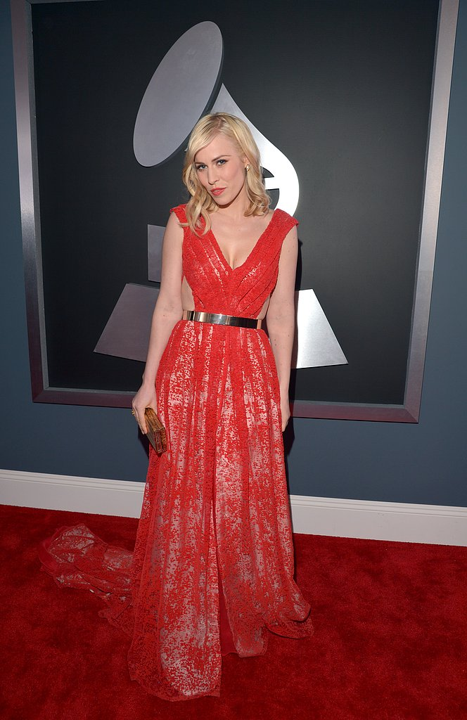 Natasha Bedingfield struck a pose before the show.