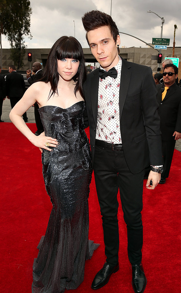 Carly Rae Jepsen and Matthew Koma arrived together.
