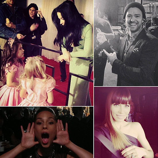 Celebrities Share Cute Candids From Grammy Weekend!