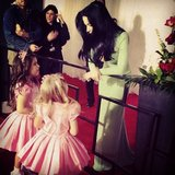 Sophia Grace and Rosie met Katy Perry on the red carpet at the Grammys. Source: Instagram user sophiagrace_rosie