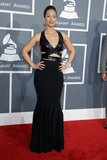 Alicia Keys struck a pose on the red carpet in a body-hugging Azzedine Alaïa gown complete with sexy cutouts.