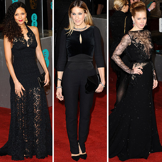 Look at all of the Lovely Ladies in Black at the 2013 BAFTA Awards