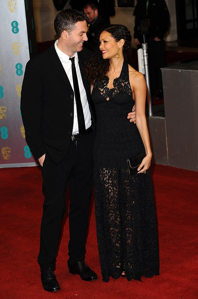 Thandie Newton and Ol Parker were too cute together at the BAFTAs.