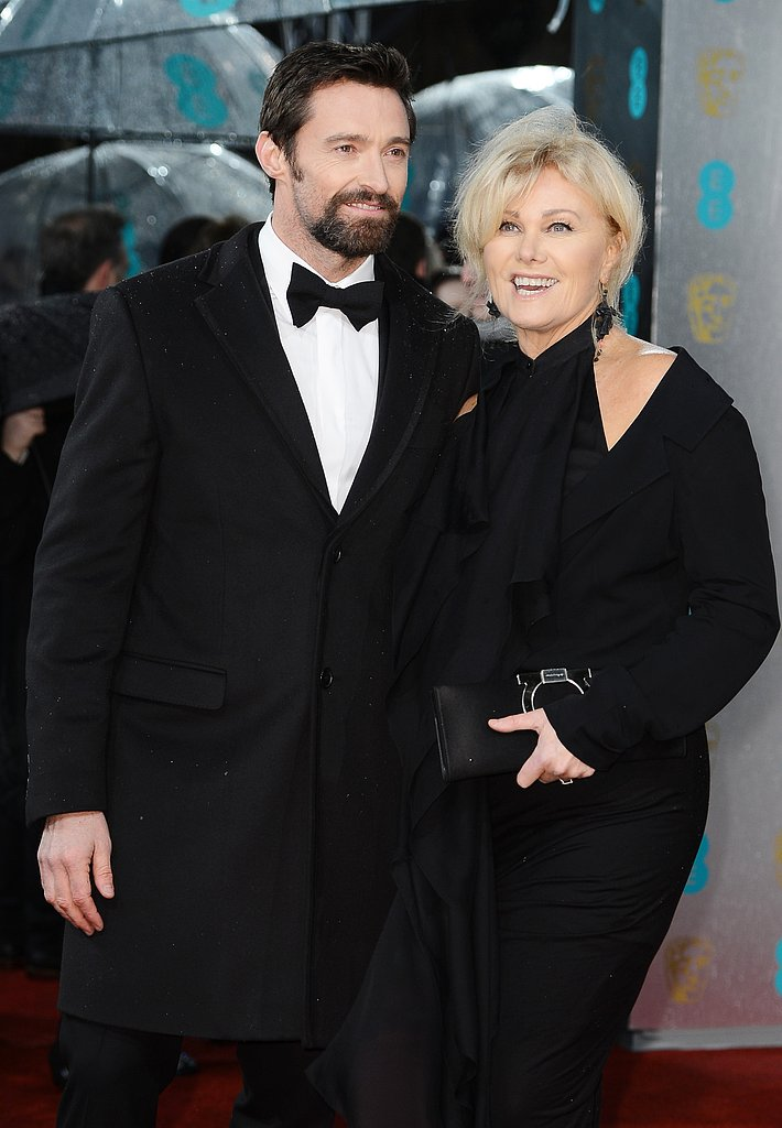Hugh Jackman had his wife, Deborra-Lee Furness, by his side at the BAFTAs.