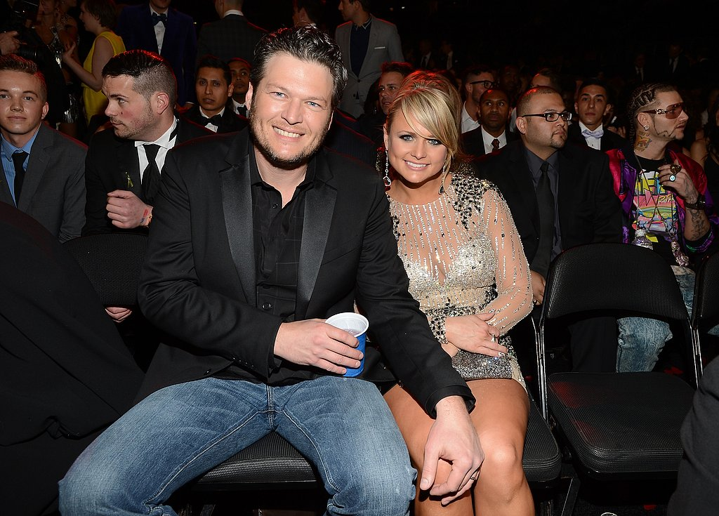 Blake Shelton and Miranda Lambert, 2013