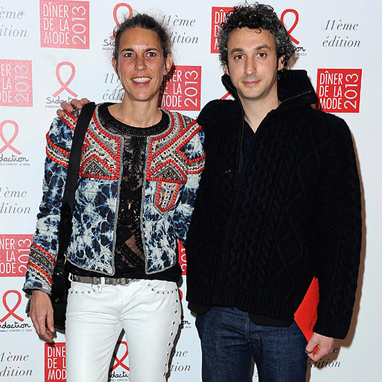 Isabel Marant with Husband Jérôme Dreyfuss