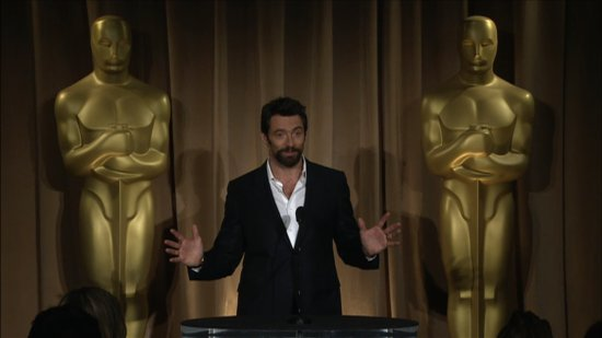 "Video: Hugh Jackman Calls Jean Valjean the ""Hamlet of Roles"" at Oscars Luncheon"
