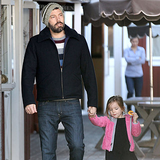 Ben Affleck and Seraphina Grabbing Breakfast | Pictures