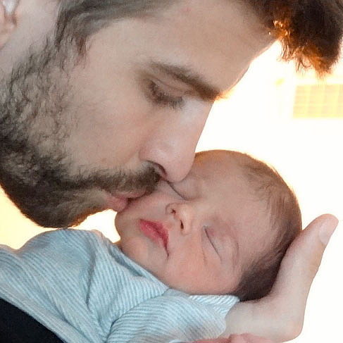 First Pictures of Shakira's Baby Milan Pique