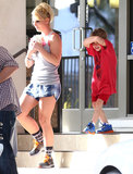 Britney Gets Caught in Super Bowl Drama During a Weekend With Her Boys