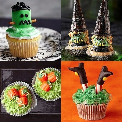 Creepy Cupcakes for Halloween (PHOTOS)
