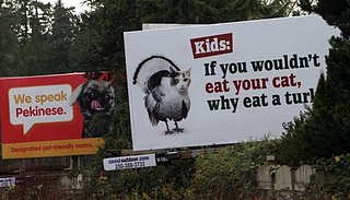 PETA Billboard Targets Kids (PHOTOS)