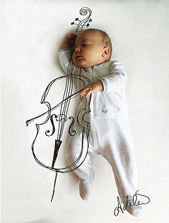 Adorable Drawings Bring Baby's Dreams to Life