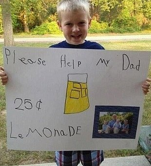 Boy Raises $10,000 with Lemonade Stand