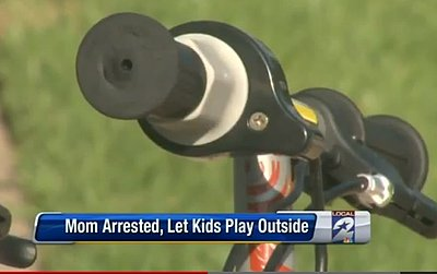 Mom Arrested for Letting Her Kids Play Outside (VIDEO)