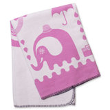 Pink Junior Animal Blanket