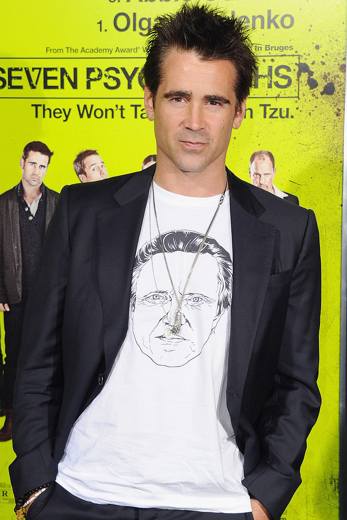 Colin Farrell joined Solace, a supernatural thriller costarring Anthony Hopkins.