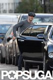 David Beckham Steps Out in Leather After Stripping Down For H&M