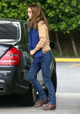 Natalie Portman stopped for gas.