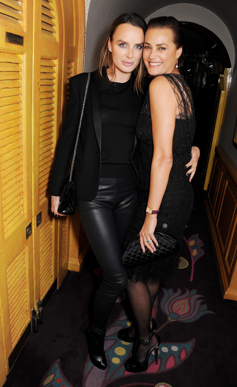 Masha Markova and Yasmin Le Bon