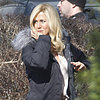 Jennifer Aniston Blonde Wig Hair Pictures in Connecticut