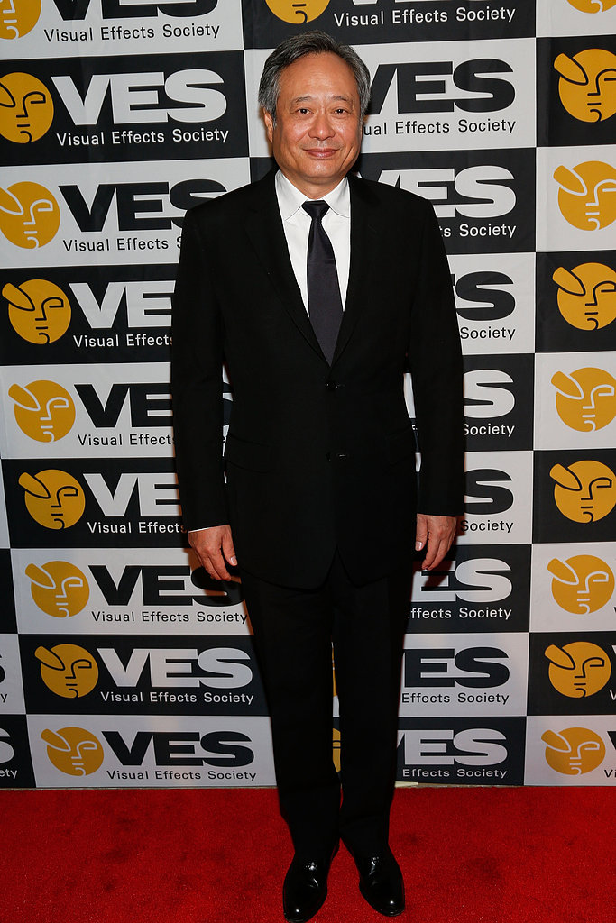 Ang Lee walked the red carpet.