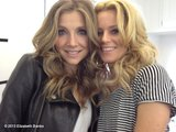 Elizabeth Banks and Sarah Chalke got close on set. Source: Elizabeth Banks on WhoSay