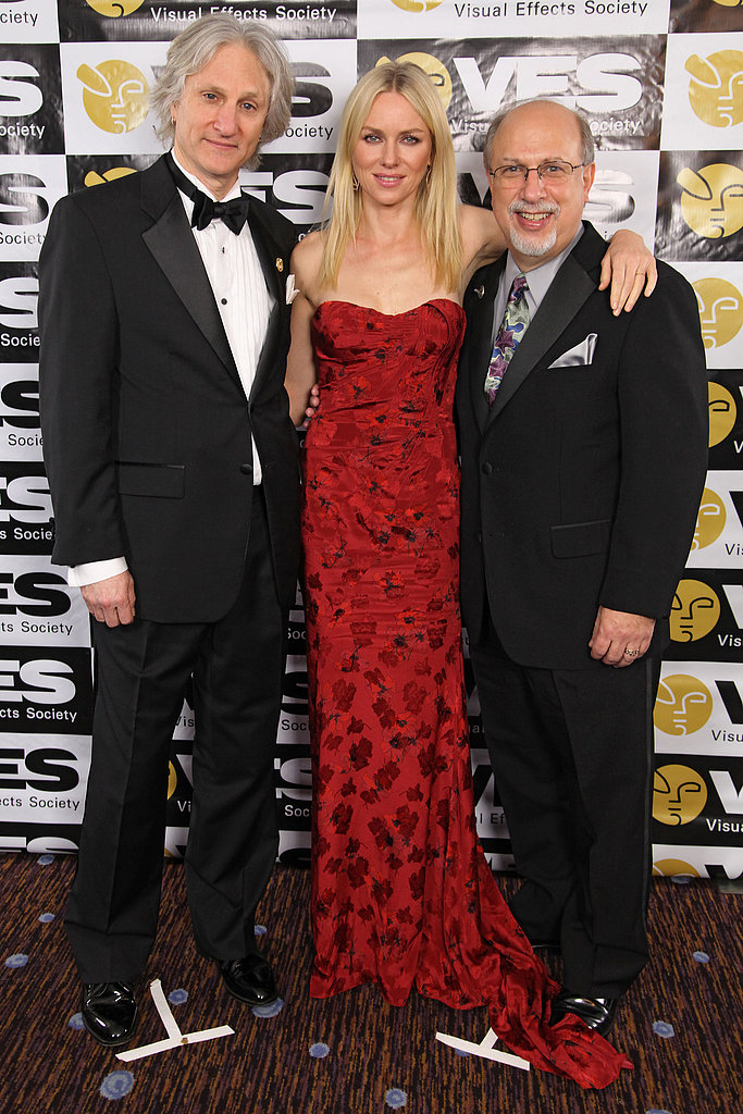 Naomi Watts posed with Jeffrey A. Okun and Eric Roth.