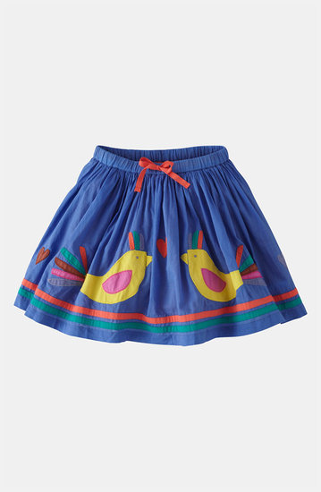 Mini Boden&#039;s Decorative Bird Skirt
