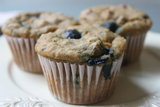 Blueberry Chia Seeds Breakfast Muffins