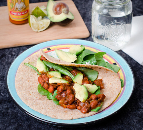 Savory BBQ Tacos with Avocado