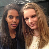 Pictures of BCBG Max Azria Beauty 2013 Fall NYFW