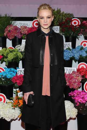 Carey Mulligan attended the Prabal Gurung For Target launch in NYC in February.