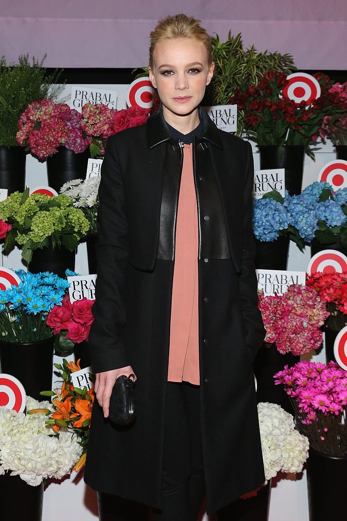 Carey Mulligan attended the Prabal Gurung For Target launch in NYC in February 2013.