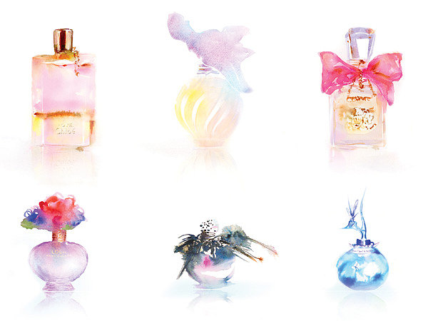 Perfume Bottles ($35) by Marta Spendowska makes a fun pick for your playful, girlie friend.