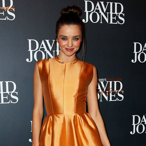 David Jones A/W Fashion Launch Celebrity Pictures