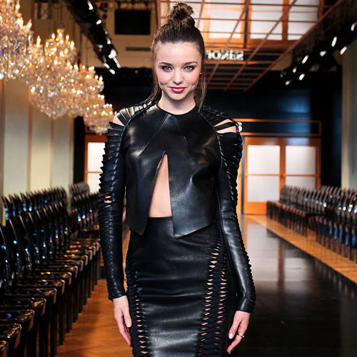 Miranda Kerr on Runway for 2013 David Jones Fashion Launch