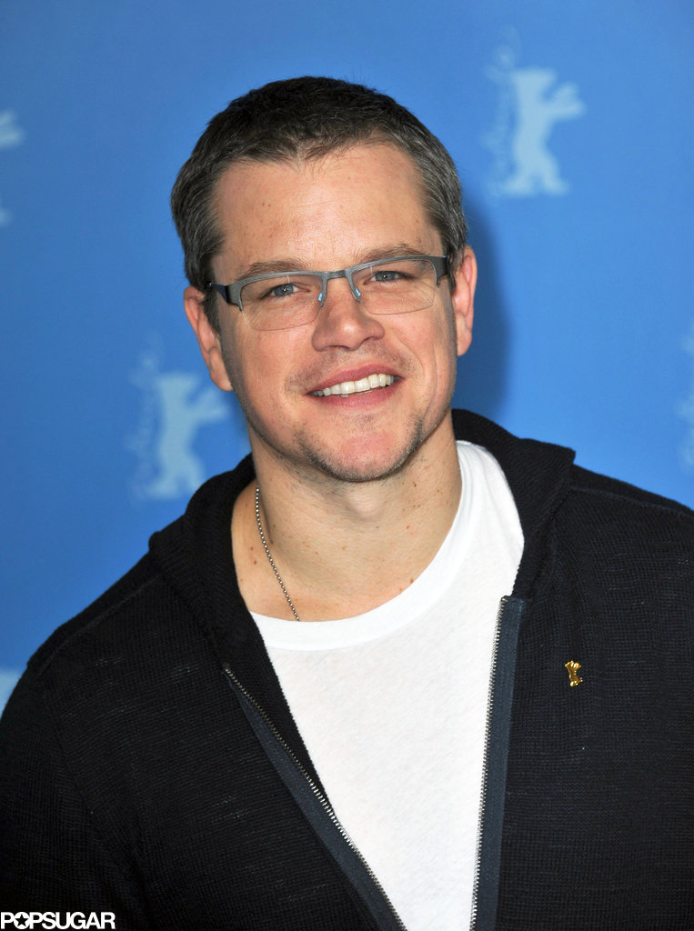 Matt Damon and John Krasinski Join Up in Berlin For Promised Land