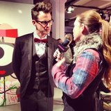 Our reporter Allison McNamara interviewed stylist Brad Goreski at Kate Spade.