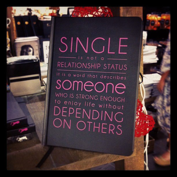 Spotted: The perfect Valentine's Day gift for single girls, courtesy of Typo.