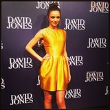 We were up close and personal with the divine Miss Kerr when she faced the media at the David Jones Fashion Launch on Wednesday.