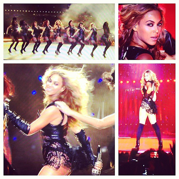 Can you handle this? Beyoncé brought sexy back, 100-fold, when she performed at the Super Bowl on Monday. We were glued to the TV.